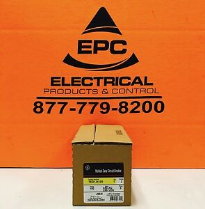 Ge Ted134100 3 Pole 100 Amp Molded Case Circuit Breaker