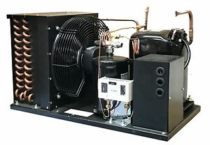 Indoor Ld Aja7494zxd Condensing Unit 1 1 4 Hp Medium Temp R404a 220v 1ph usa