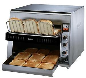 Star Qcs3 1300 Holman 14in W Belt 1300 Slices hr Conveyor Toaster