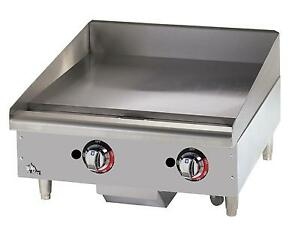 Star 624tspf Star max 24in Thermostatic Gas Griddle W Safety Pilot