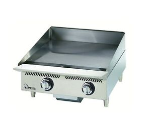Star 824ta Ultra max 24in Mechanical Snap Action Gas Griddle