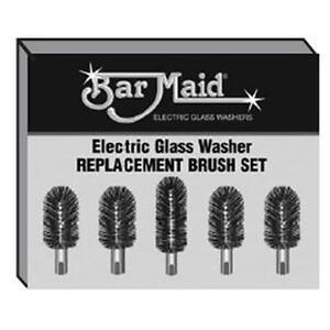 Bar Maid Brs 1722 Standard Replacement Brush Set For Barmaid Glass Washers