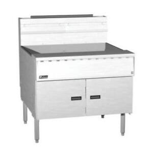 Pitco Sgm18x24 110lb Megafry Solid State Deep Fryer