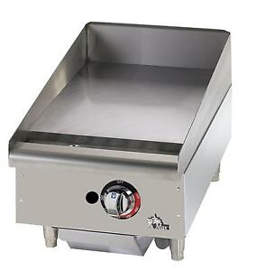 Star 615tf Star max Countertop 15in Thermostatic Gas Griddle