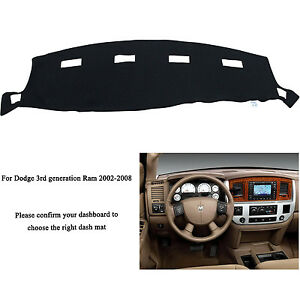 For Dodge Ram 1500 2500 3500 2002 2008 Dashmat Dashboard Mat Dash Cover Carpet