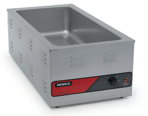 Nemco 6055a 43 Counter Top Food Warmer For 4 3 Size Pan 1500w