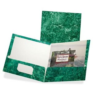 Oxford Marble Laminated Twin Pocket Folders Letter 8 1 2 X 11 Sheet