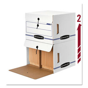 Bankers Box Side tab File Storage Box Letter 15 1 4 X 13 1 2 X 10 3 4