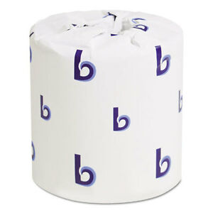 Boardwalk Two ply Toilet Tissue White 4 X 3 Sheet 400 Sheets roll 96
