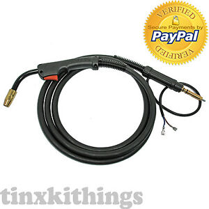 Replacement Gun Hobart Handler 140 187 Wire Welder Construction Mig Nozzle Cable