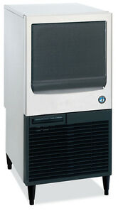Hoshizaki Km 61bah 49lb Self Contained Ice Machine Crescent Cube Maker Air Cool