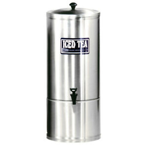 Gmcw S10 10 Gal Stainless Steel Iced Tea Dispenser