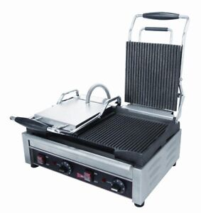 Gmcw Sg2lf Double Flat Panini Grill Sandwich Quesadilla Press 240 V