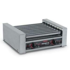 Nemco 8018sx Roll a grill 18 Hot Dog Grill Roller