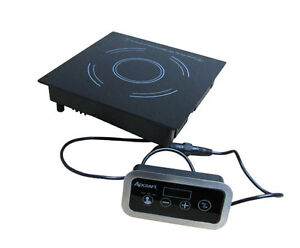 Adcraft Ind dr120v Drop in Remote Control Electric Induction Hot Plate