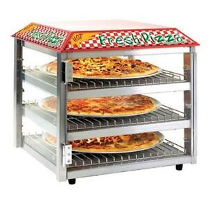 Tomlinson Industries 1023226 513fc Three Shelf Pizza Snack Display Case 120v