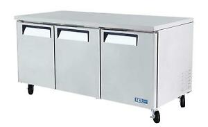 Turbo Air 72 Undercounter Stainless 18 8 Cu ft Cooler Mur 72