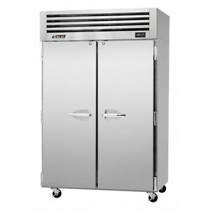 Turbo Air 50 Cu ft Reach In Freezer 2 Solid Swing Doors Pro 50f