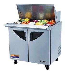 Turbo Air 2 Door Sandwich Salad Prep Cooler Tst 36sd 15