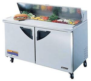 Turbo Air 60in Sandwich Salad Prep Cooler Nsf Tst 60sd