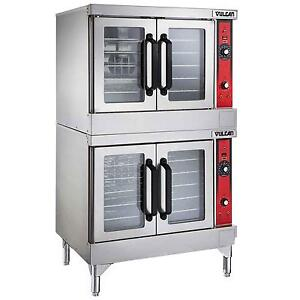 Vulcan Vc44ed Vc series Double Stack Electric Convection Oven 208 240v