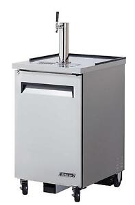 Turbo Air Direct Draw 1 Keg Beer Cooler Stainless Tbd 1sd