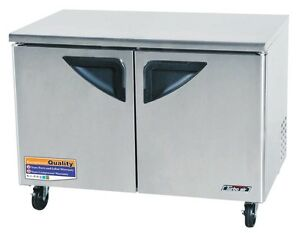Turbo Air 48in Commercial Undercounter Freezer Tuf 48sd