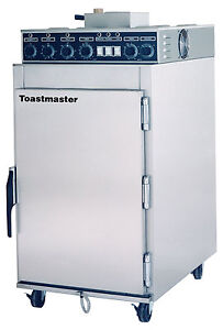 Toastmaster Es 6 Countertop Stainless Cook n Hold Smoker Oven W Humidity