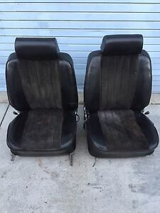 Porsche 911 Front Seats Pair Cloth 72 73