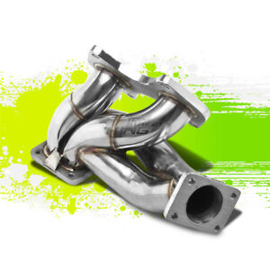 For 93 98 Mazda Rx7 Fd3s 13b T4 Td07 Racing Performance Turbo Manifold Exhaust