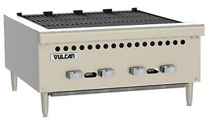 Vulcan Vcrb25 25 Low Profile Countertop Radiant Gas Charbroiler