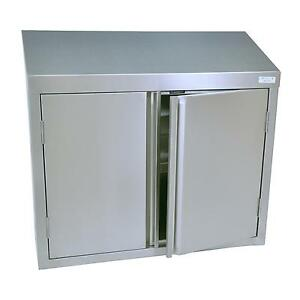 Bk Resources Bkwch 1548 48 w Stainless Steel Wall Mount Cabinet
