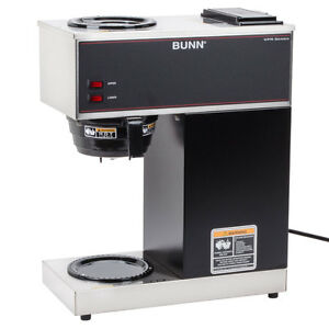 Bunn 33200 0000 12 Cup Pourover Coffee Maker With 2 Warmers