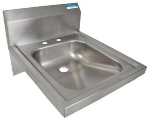 Bk Resources Bkhs ada d 14 w Ada Compliant Hand Sink Without Faucet