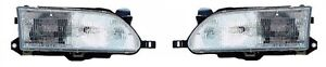 93 94 95 96 97 Toyota Corolla Headlight Pair Set Both New Headlamp