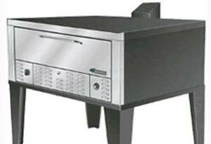 Peerless Ovens Cw200p 52 Wide Double Deck Pizza Oven Gas Floor Model Stainless