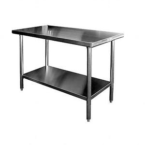All Stainless Steel 24in X 48in Commercial Work Table