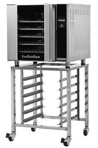 Moffat E32t5 sk32 Turbofan Electric Touch Screen Convection Oven With Stand