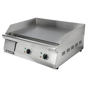 Adcraft Grid 24 24 Countertop Electric Thermostatic Griddle