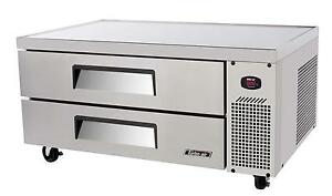 Turbo Air Tcbe 48sdr n 48 S s Chef Base Cooler W 2 Drawers 7 52 Cuft