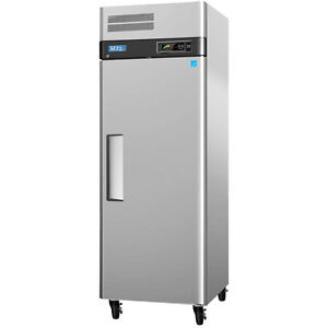 Turbo Air M3f19 1 20cf Stainless Reach in Freezer With 1 Solid Door