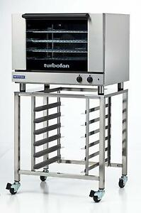 Moffat E28m4 sk2731u Electric Convection Oven Full Size 4 Pan W Mobile Stand