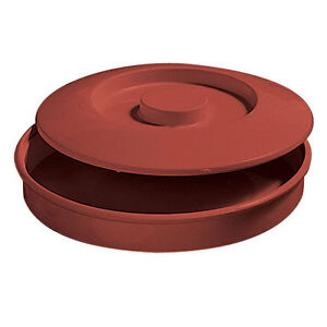Thunder Group Ns608r 1 Dozen Nustone Red Melamine Tortilla Servers Nsf