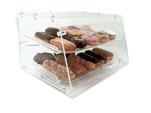 Update Apb 2112fd Pastry Display Case W 2 Trays 6mm Clear Acrylic