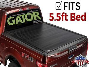 Gator Recoil Fits 2015 2019 Ford F150 5 5 Ft Retractable Tonneau Bed Cover