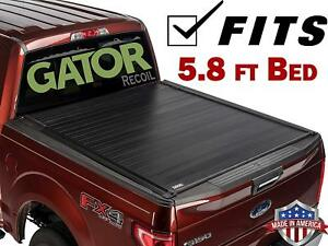 Gator Recoil Fits 14 18 Chevy Silverado Sierra 5 8 Ft Retractable Tonneau Cover