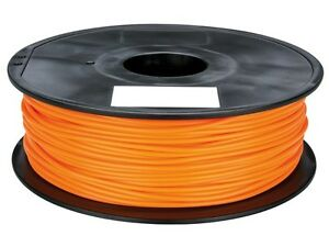 Velleman Pla175o1 1 75 Mm 1 16 Pla Filament Orange 1 Kg 2 2 Lb