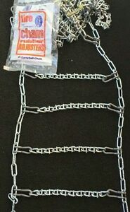 New Bar Reinforced Usa Snow Tire Chains W adjusters P225 70r15 P235 70r15 0