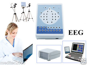 Contec Digital Portable Eeg Machine Mapping System 16 channel Eeg 3y Warranty