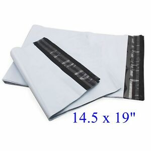 14 5 X 19 Poly Mailers Envelopes Plastic Bags 10 20 50 100 200 500 2 35 Mil
